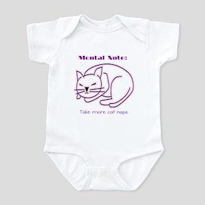 More Cat Naps Infant Bodysuit