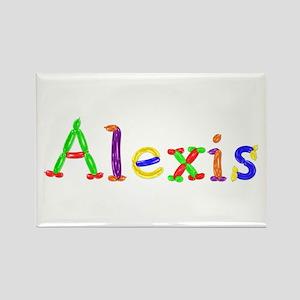 Alexis Balloons Rectangle Magnet