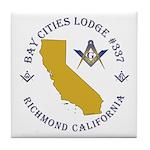 Bay Cities Lodge Tile Coaster