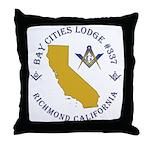 Bay Cities Lodge Throw Pillow