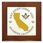 Bay Cities Lodge Framed Tile