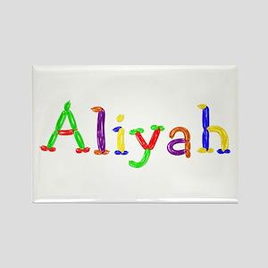 Aliyah Balloons Rectangle Magnet