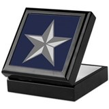 Brigadier general Square Keepsake Boxes