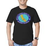 Bay Cities Lodge Men's Fitted T-Shirt (dark)