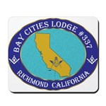 Bay Cities Lodge Mousepad