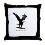 Eagle Hydraulics Inc. Throw Pillow