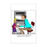 I wrote the software Mini Poster Print