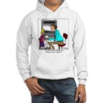 I wrote the software Hooded Sweatshirt