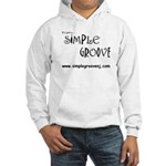 Simple Groove Hooded Sweatshirt