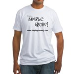 Simple Groove Fitted T-Shirt