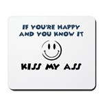 If You're Happy and You Know Mousepad
