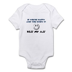 If You're Happy and You Know Infant Bodysuit