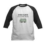 Dreams Do Come True Kids Baseball Jersey