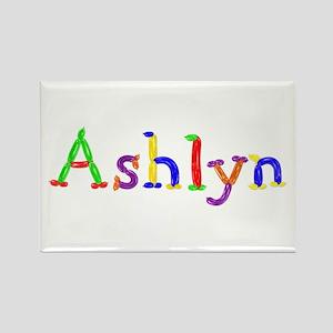 Ashlyn Balloons Rectangle Magnet