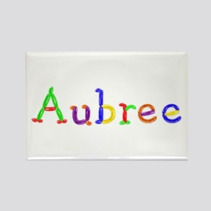 Aubree Balloons Rectangle Magnet