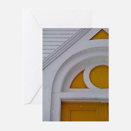 St Mathew's Door Greeting Cards (Pk of 10)
