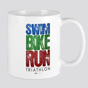 Swim, Bike, Run - Triathlon Mug