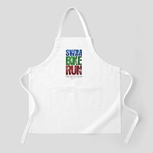 Swim, Bike, Run - Triathlon Apron