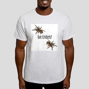 Tarantula Got Crickets Ash Grey T-Shirt