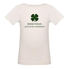 Irish Today Hungover Tomorrow Tee