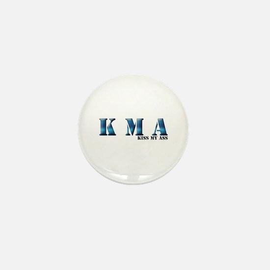 Cute Kiss my ass Mini Button