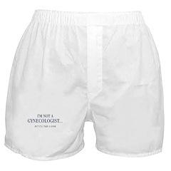 I'm Not a Gynecologist Boxer Shorts