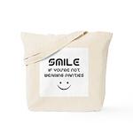 Smile If You're Not Wearing Panties Tote Bag