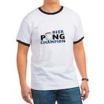 Beer Pong Champion Ringer T