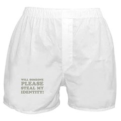 Steal My Identity Boxer Shorts