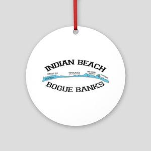 Indian Beach NC - Ligththouse Design Ornament (Rou