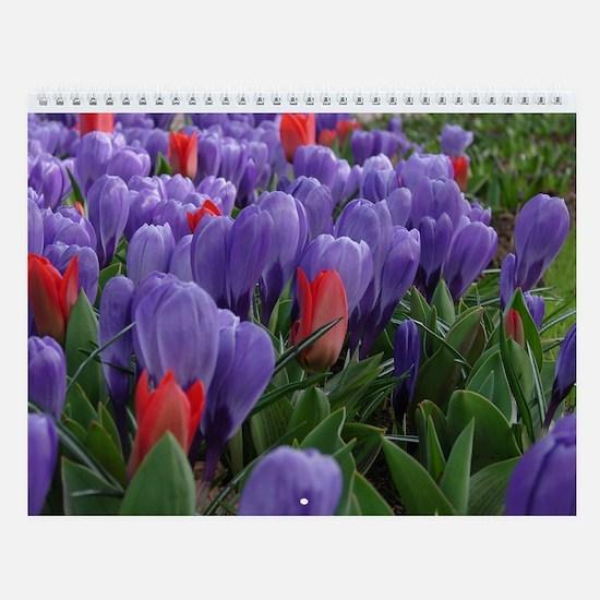 Flower Wall Calendar