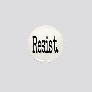 Resist Anti-Trump Liberal Mini Button