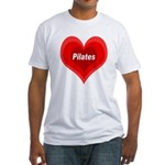 Love Pilates Fitted T-Shirt