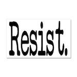 Resist Anti-Trump Liberal Car Magnet 20 x 12