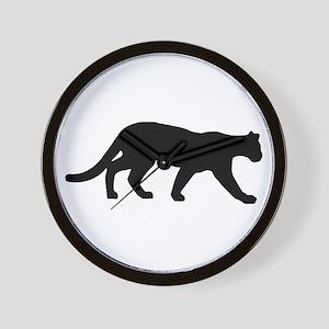 Panther - Cougar Wall Clock