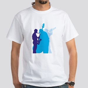 Jazz Trio White T-Shirt