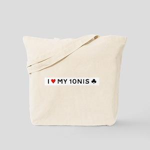 I Love My Tennis Club - Tote Bag