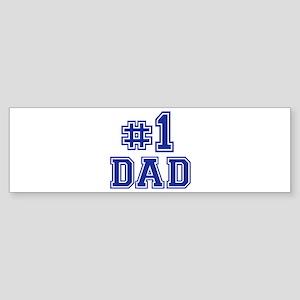 No.1 Dad Sticker (Bumper)