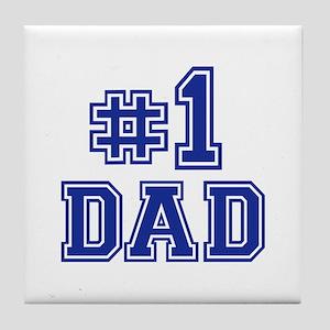 No.1 Dad Tile Coaster