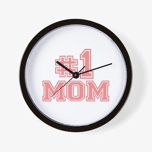 No.1 Mom Wall Clock