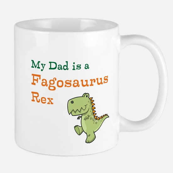 Gay Dinosaur Dad Mug