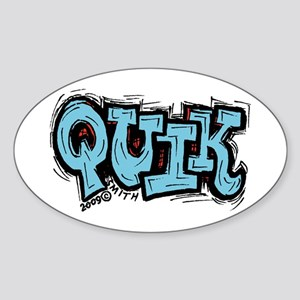 Quik Sticker (Oval)