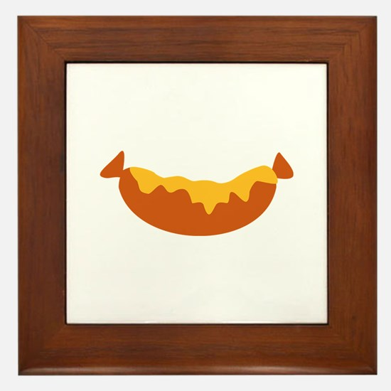 Sausage Framed Tile