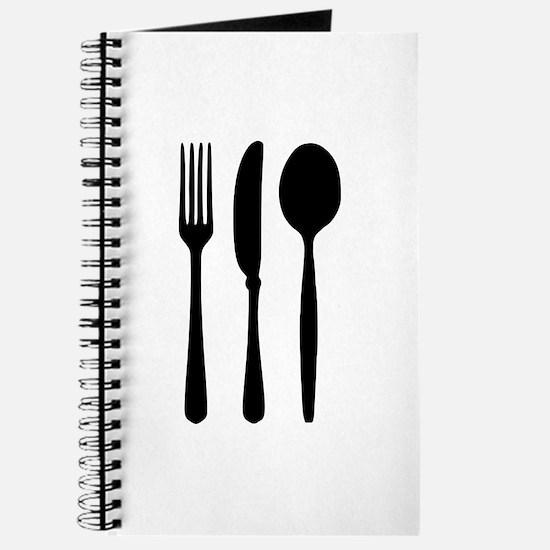 Cutlery - Fork - Knife - Spoon Journal