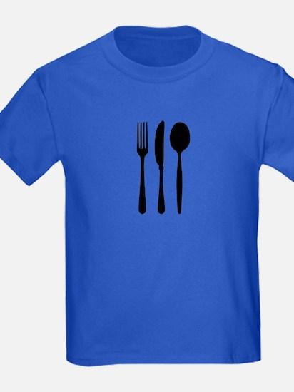 Cutlery - Fork - Knife - Spoon T