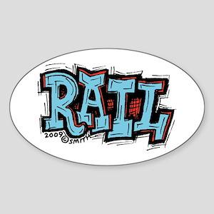 Rail Sticker (Oval)