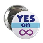 """2.25"""" Yes on Infinity Button"""