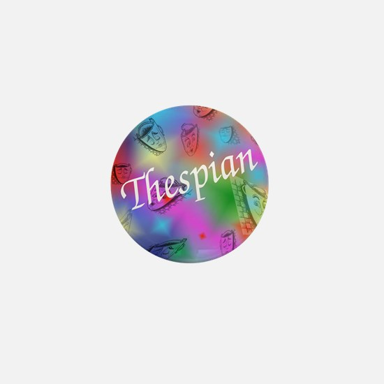 Thespian Mini Button