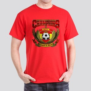 Spain 2010 World Soccer Champions Red T-Shirt