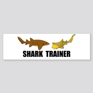 Shark Trainer Sticker (Bumper)
